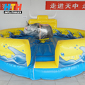 Inflatable mechanical bull motor bouncing horse for adults
