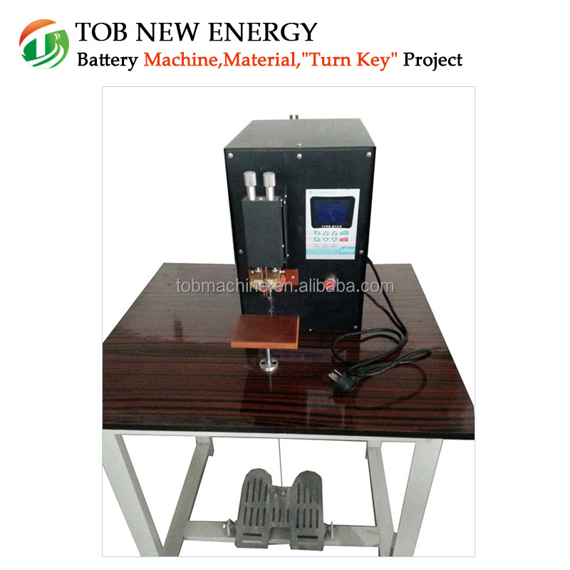 Desk-Top Micro-computer Control Capacitive Spot Welding Machine for Lithium Polymer Battery