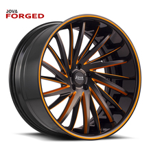 Two Piece High Density Aluminum Forged Truck Wheels 22.5 Rims