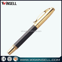 China metal head push function conference ball pen