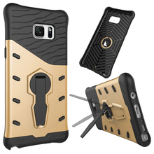 3 in 1 Strong antiproof armor Kickstand Design Sniper Hybrid TPU + PC case for Samsung Galaxy Note 5