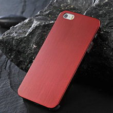 High quality fashion red aluminum back case for iphone 4/4s , for iphone 4 hard case , metal cell phone cases