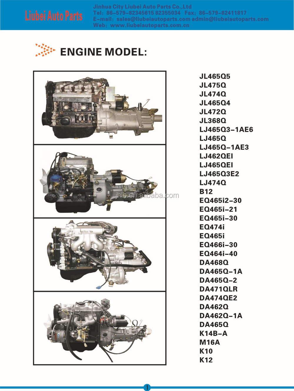 ENGINE PARTS FOR CHINESE CARS 368 465Q, View ENGINE PARTS, DFM ...
