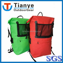 2017 Custom Logo waterproof backpack travel hiking dry bag backpack
