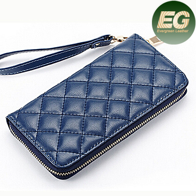 Cheap purse from china women hand clutch wallet long wallet lady popular leather purse AL245