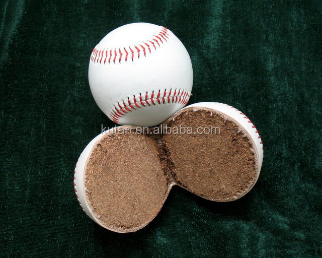 protmotion official 9 inch custom pvc leather cork core hard baseball