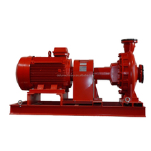 centrifugal end suction electric fire fighting pump