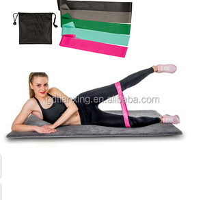 Wholesale 5pcs fitness resistance bands exercise fitness latex yoga workout gym sports bands