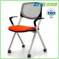 893 back rotatable colorful high seat folding beach chair with pp armrest