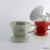 white red grey medium vietnam coffee cone drip funnel filtration custom embossed logo filter ceramic pour over coffee dripper