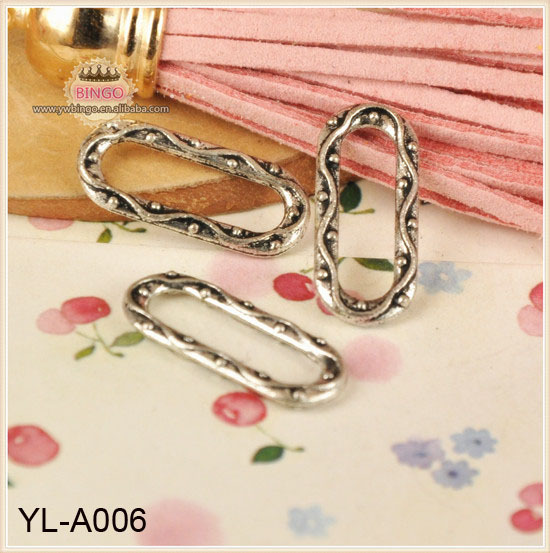 Charm Holder or Large Link in Sterling Silver Jewelry Link Connector YL-<strong>A006</strong>