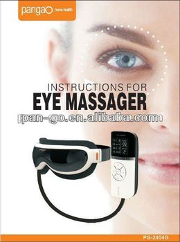 USB connection electronic eye massager with HEATING and AIR PRESSURE function