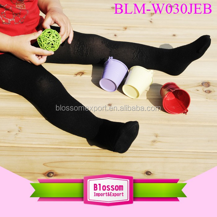 Wholesale Cheap Seamless Teen Girl Tube Pantyhose White Black Ballet Dance Baby Cotton Footed Tights Pantyhose