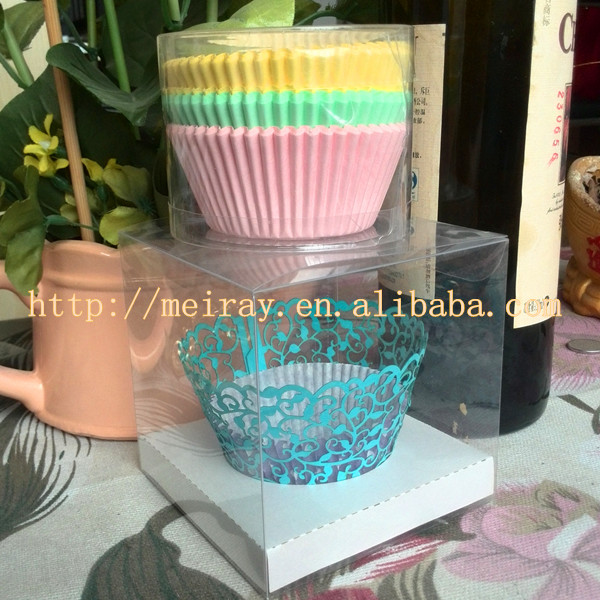 transparent plastic clear pvc box made in china