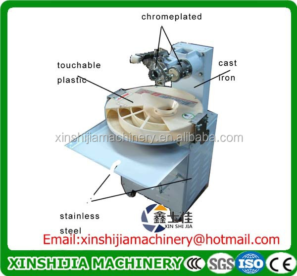 Factory price hot sale bread dough roller machine