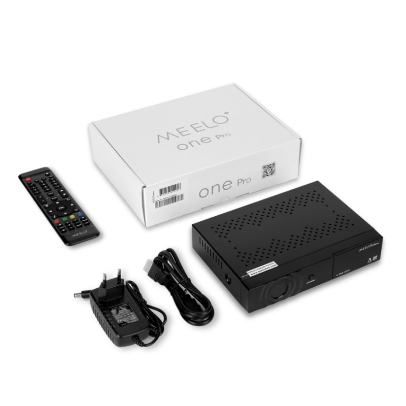 Enigma2 Linux Satellite Receiver MEELO+One Pro HD DVB-S2 AVS+IPTV H.265 HEVC Set Top Box Xcrypt and Conax embedded Smart Card