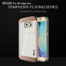 Slicoo brand 2015 newest imitated TPU case for Samsung Galaxy S6 economic case
