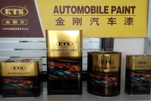 1k 2k Automotive Refinish Car Paint For Scratch Repair