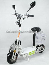 800W 36V alloy deck Electric scooter with basket(XW-E05L) EEC/COC