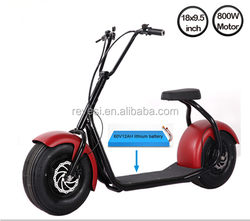 2016 best selling citycoco 2 wheel electirc scooter
