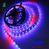 Waterproof Led Strip Light ws2812b RGB 5050SMD Dmx Controll Christmas Led Tape Light Addressable