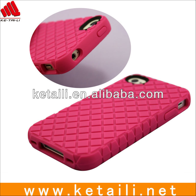 For shockproof iphone cover, soft silicone cases