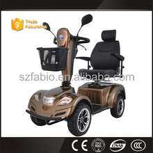 E folding one/two/three /four Wheel handicapped electric scooter scooter with sidecar