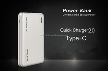 MIQ anti-slide qc 2.0 powerbank external battery portable charger for New Macbook