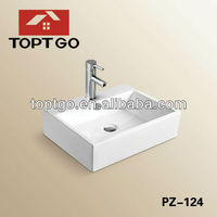 Manufacture Modern Bathroom Small Vessel sinkPZ-124