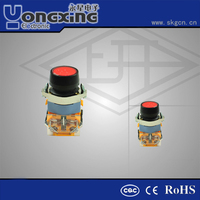 22mm reliable momentary 120v push button switch
