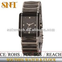2012 ceramic band sapphire crystal watches men swiss