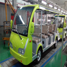 Tour bus car manufacturing assembly line