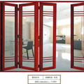 Aluminum folding door with anti-aging feature/ folding door hardware accessories