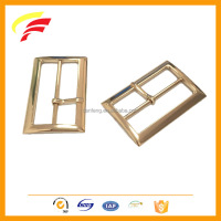 zinc alloy square H shape metal tri-glide adjustable pin buckle for bag belt and coat