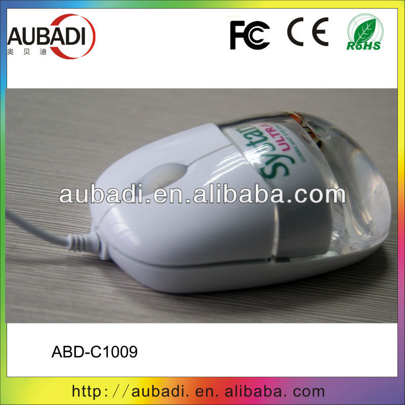 Cute Wired Mouse Gift Mouse 2.4G Optical Wired Aqua Mouse With Floater