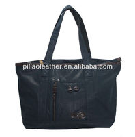 BUG 2013 hot sell PU coating manufacture beach shopping tote bag, hand bag