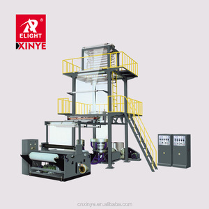 Ruian Xinye Double-Layer Co-Extruding Rotary Die Polypropylene Film Blowing Machine