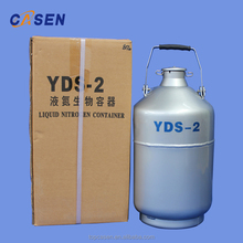 Small Capacity Liquid Nitrogen Canister Tanks Containers