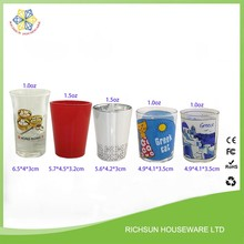 Shot glass personalized wholesale suplier factory in Shenzhen