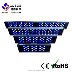 6306 air craft aluminum led marine aquarium lighting Multi-Color Marine Fish Tank lighting
