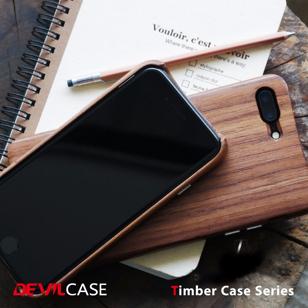 DEVILCASE High Quality Wood Phone Case for iPhone