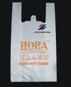 Biodegradable Wine Carrier Bag Machine Run Plastic Shopping Bag