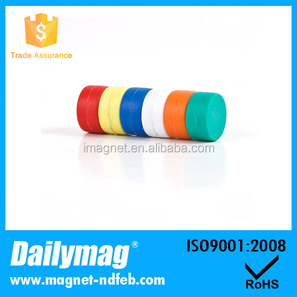 Colorful Rubber Coated Neodymium Magnets