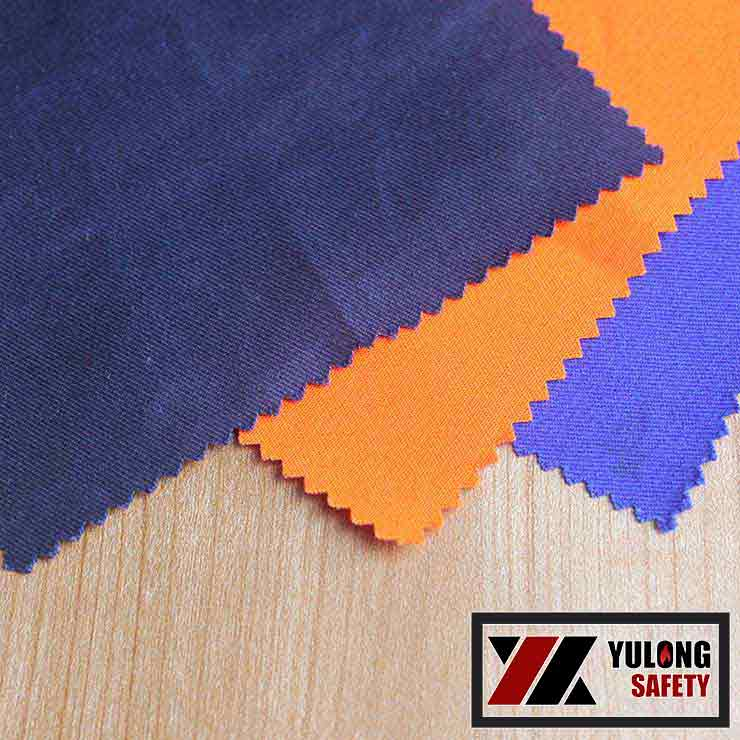 Manufacture Directly Sale High Heat 280Gsm 60% Cotton/ 40% Polyester Cotton Twill Flame Resistant Woven Fabric