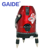 4V1H1D 150mw high power self leveling rotating 5 red lines 360 degree base long range laser builders levels for construction