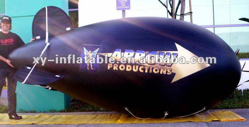 Customized inflatable helium advertising blimp