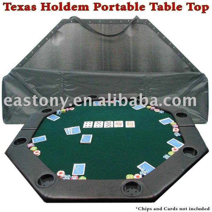 Delightful Texas Holdem Portable Poker Table Top   Buy Portable Poker Table  Top,Folding Poker Table Top,Poker Table Top Product On Alibaba.com