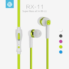 OEM low price new stylish model sports earphone for mp3 player