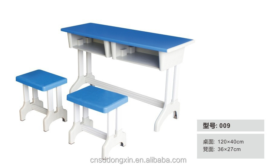 Elegant college classroom furniture school desk and chair 009