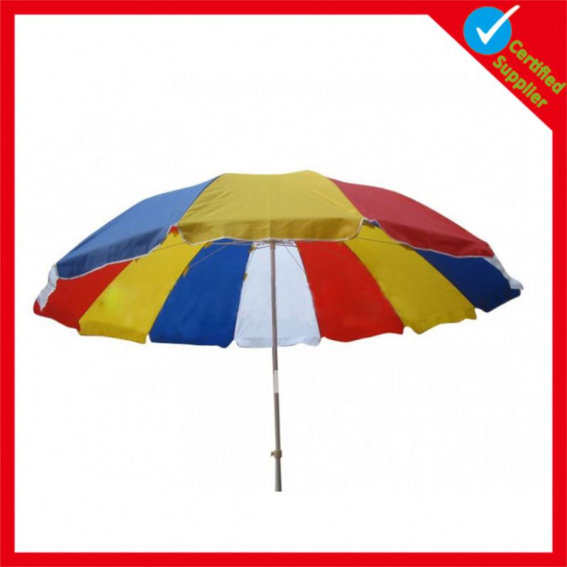 Free samples OEM promotional portable umbrella beach
